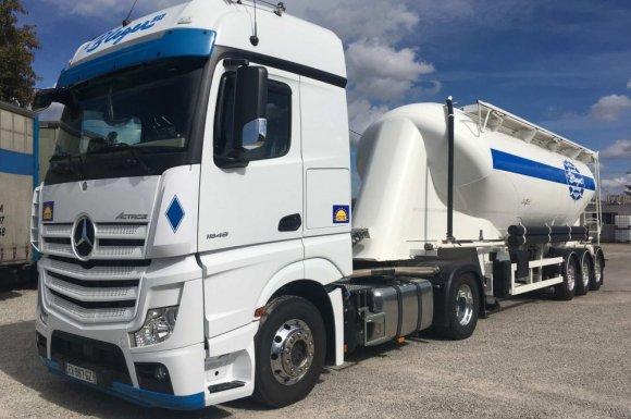 Transport de produits pulvérulents Hilsenheim