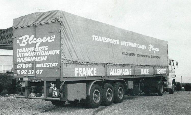 Transport international à Hilsenheim depuis 1964